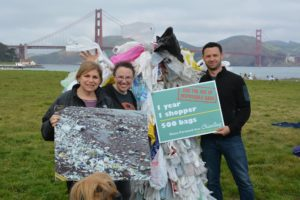 ED clean water action, Beth Terry, and Jeff of Litterati